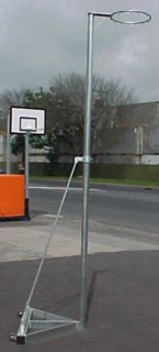 Freestanding - Fixed Height Netball Post