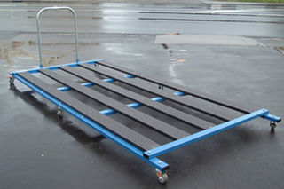 Crash Mat Trolley 2400 x 1200