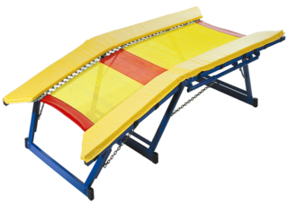 Double Mini Trampoline - Safety Pads Only