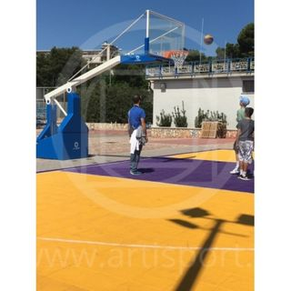 Basketball Portable B677 / 1 (FIBA TUV)