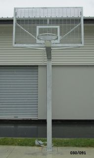 International Basketball Tower with Steel Backboard