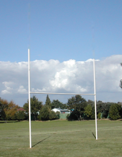 Rugby Posts - Junior - Galvanised