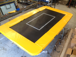 Regulation Folding Trampoline - Polypropylene Bed