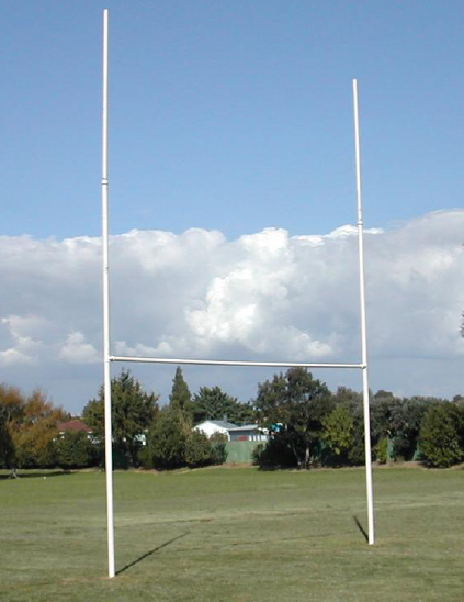 Rugby Posts - Intermediate - Galvanised