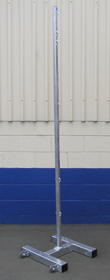 Freestanding Combination Stand- Galvanized