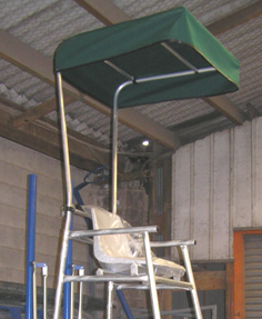 Tennis Umpire Stand Canopy Only