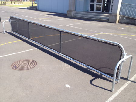 Portable Padder Tennis Frame- Galvanized
