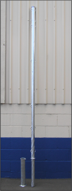 Fixed Height 40nb Combination Post- Galvanized