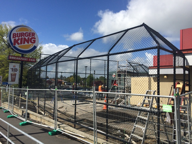 BURGER KING HILLCREST ADDS BASKETBALL TO THE MENU