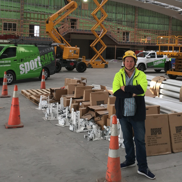 MARK MILLAR GYMLEADER NEW ZEALAND LTD ON SITE