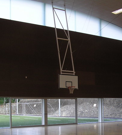 Basketball Indoor basketball court ceiling height